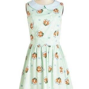 hell bunny fox love dress